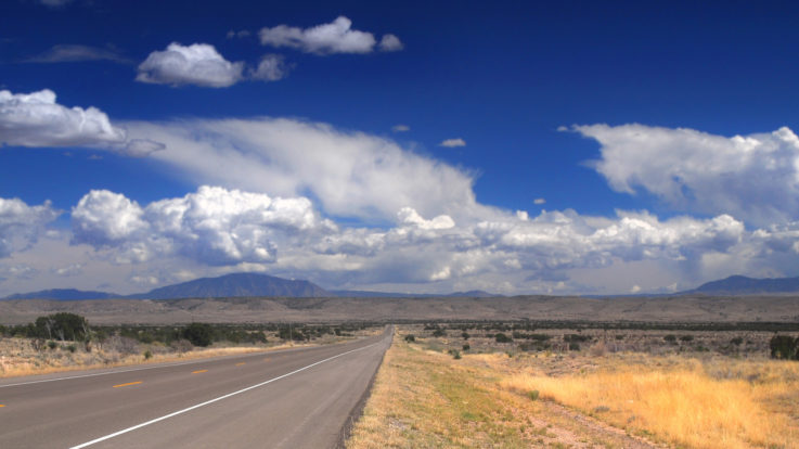The History of State Roads and New Mexico's HWY 128